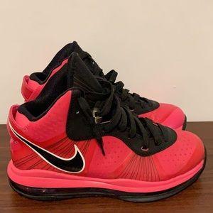Pink & Black Lebron James Sneakers